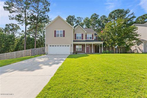 Photo of 128 Tanbark Drive, Jacksonville, NC 28546 (MLS # 100225958)