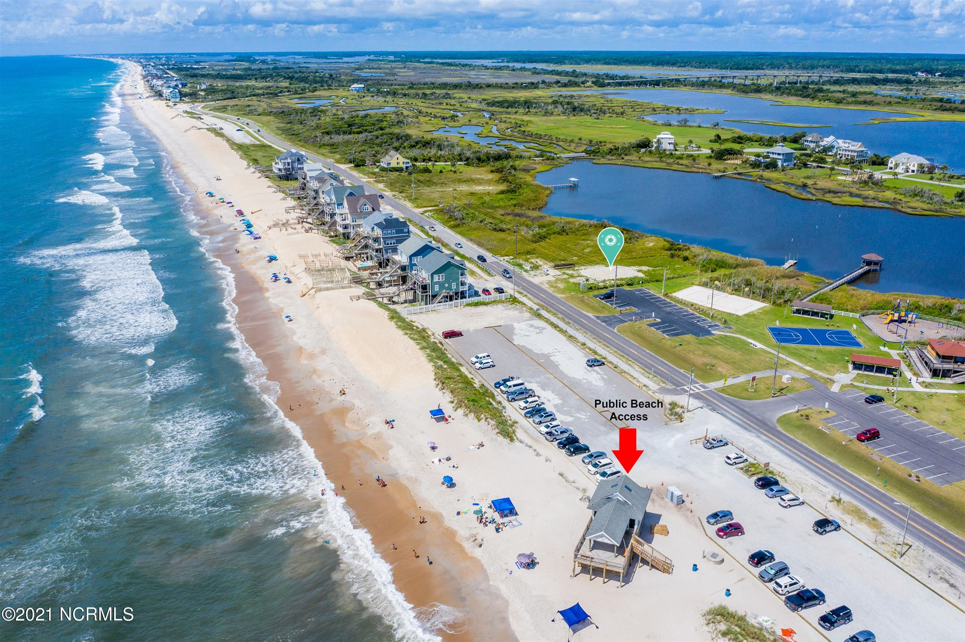 Photo of 451 New River Inlet Road, North Topsail Beach, NC 28460 (MLS # 100285971)