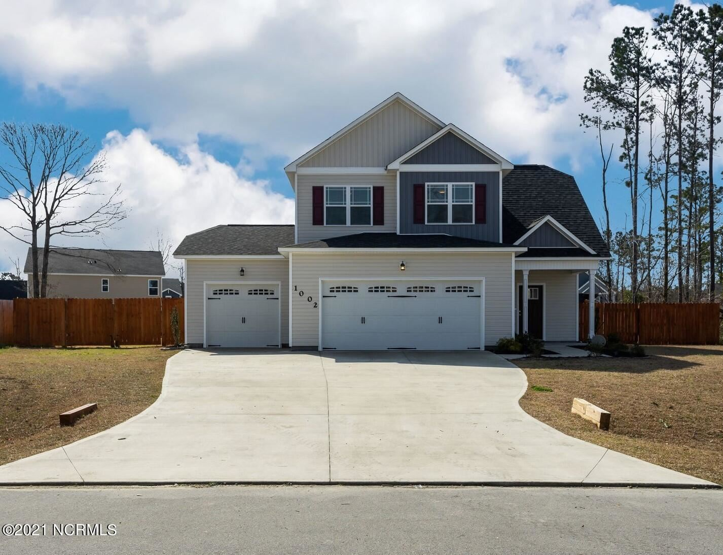 Photo of 1002 Bison Trail, Jacksonville, NC 28546 (MLS # 100288973)