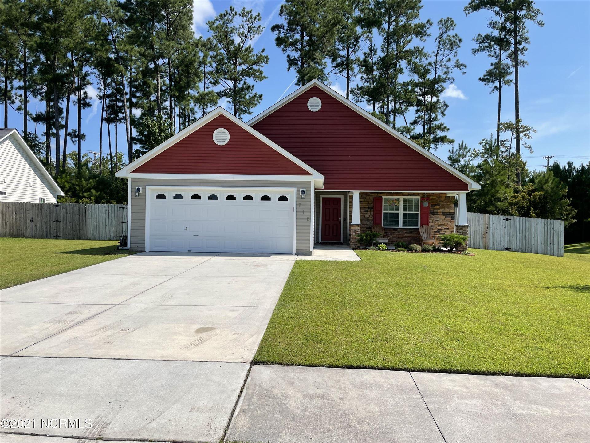 Photo of 715 Savannah Drive, Jacksonville, NC 28546 (MLS # 100285979)
