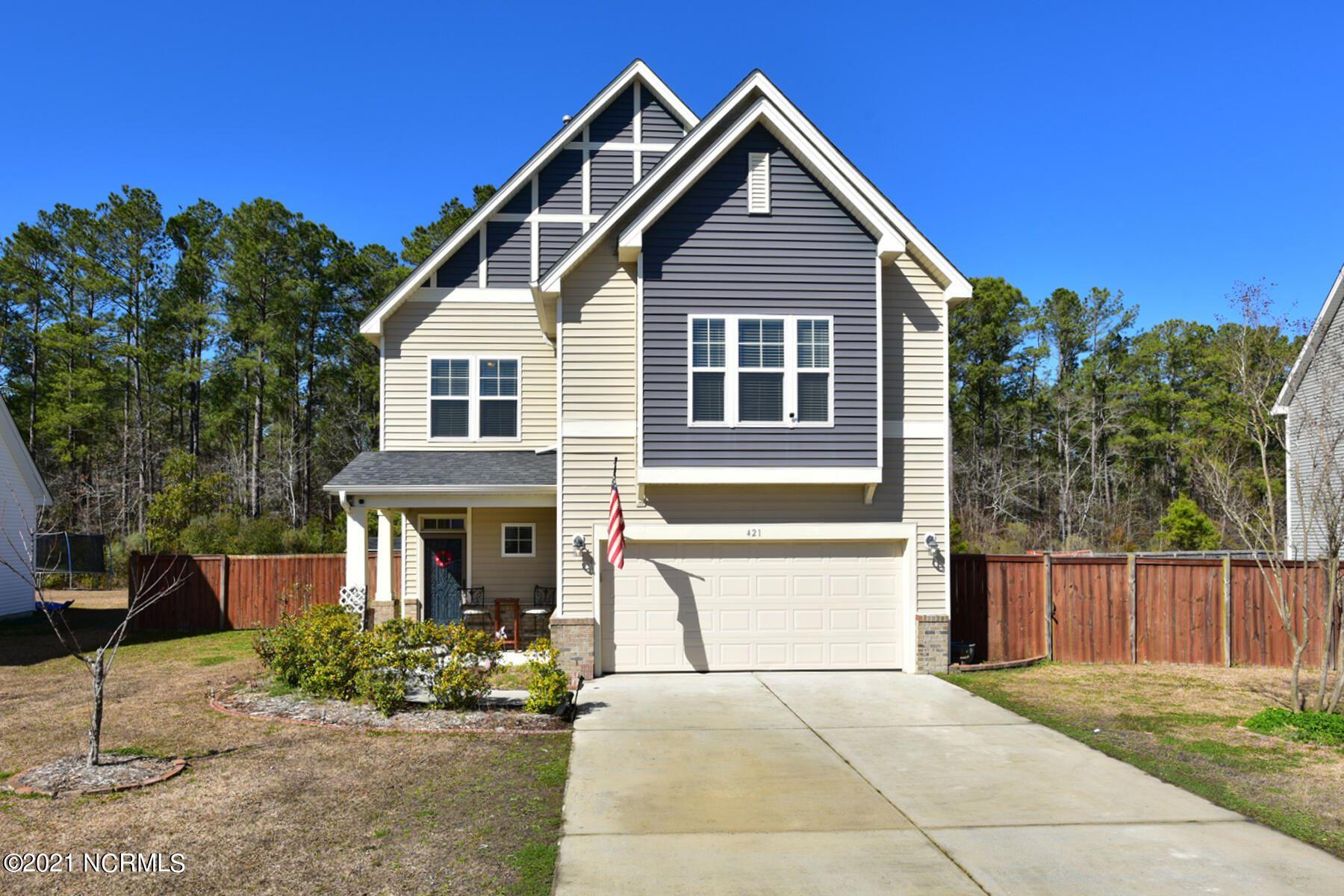 Photo of 421 Savannah Drive, Jacksonville, NC 28546 (MLS # 100285980)