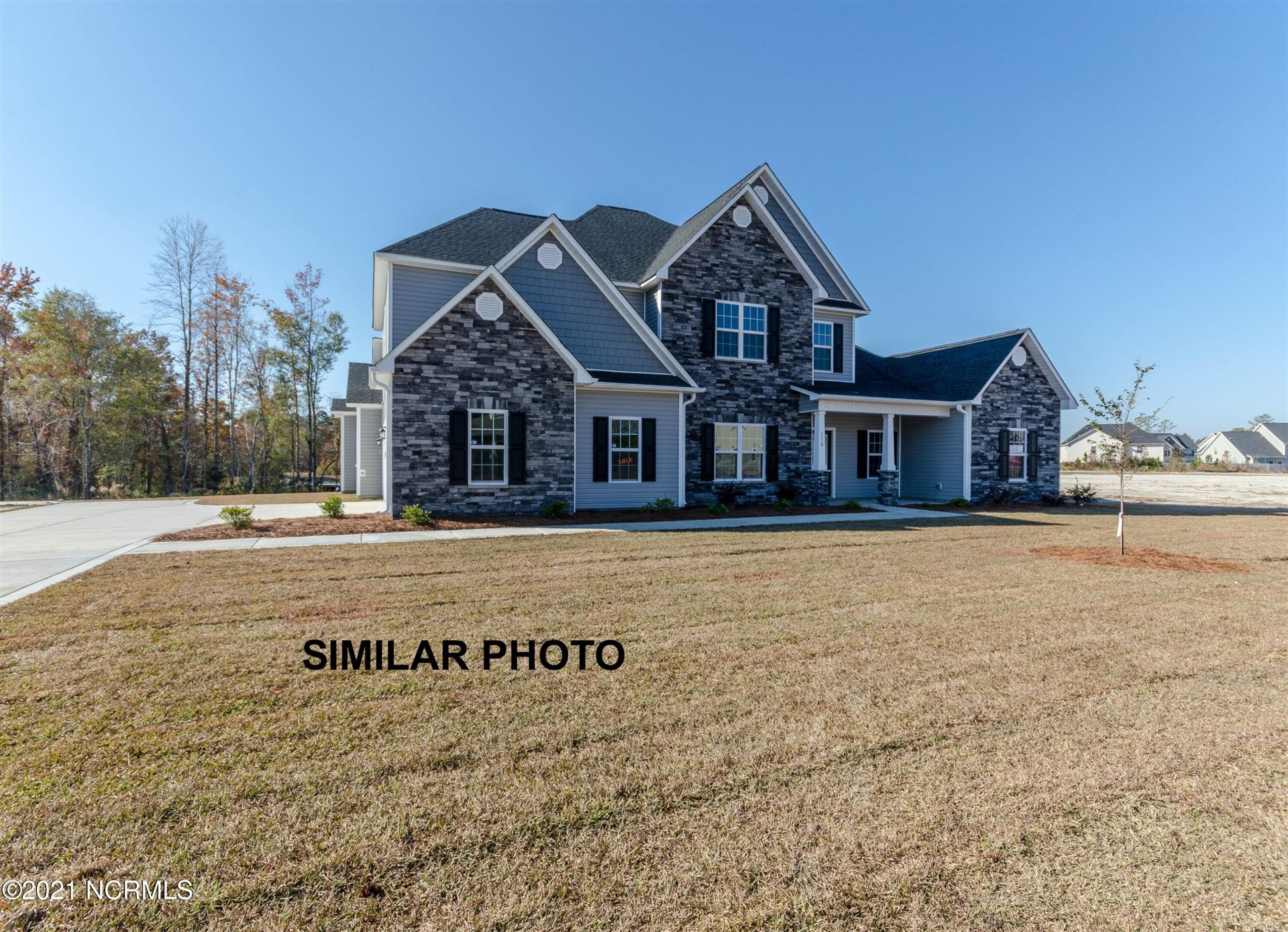 Photo of 106 Evergreen Forest Drive, Sneads Ferry, NC 28460 (MLS # 100287982)