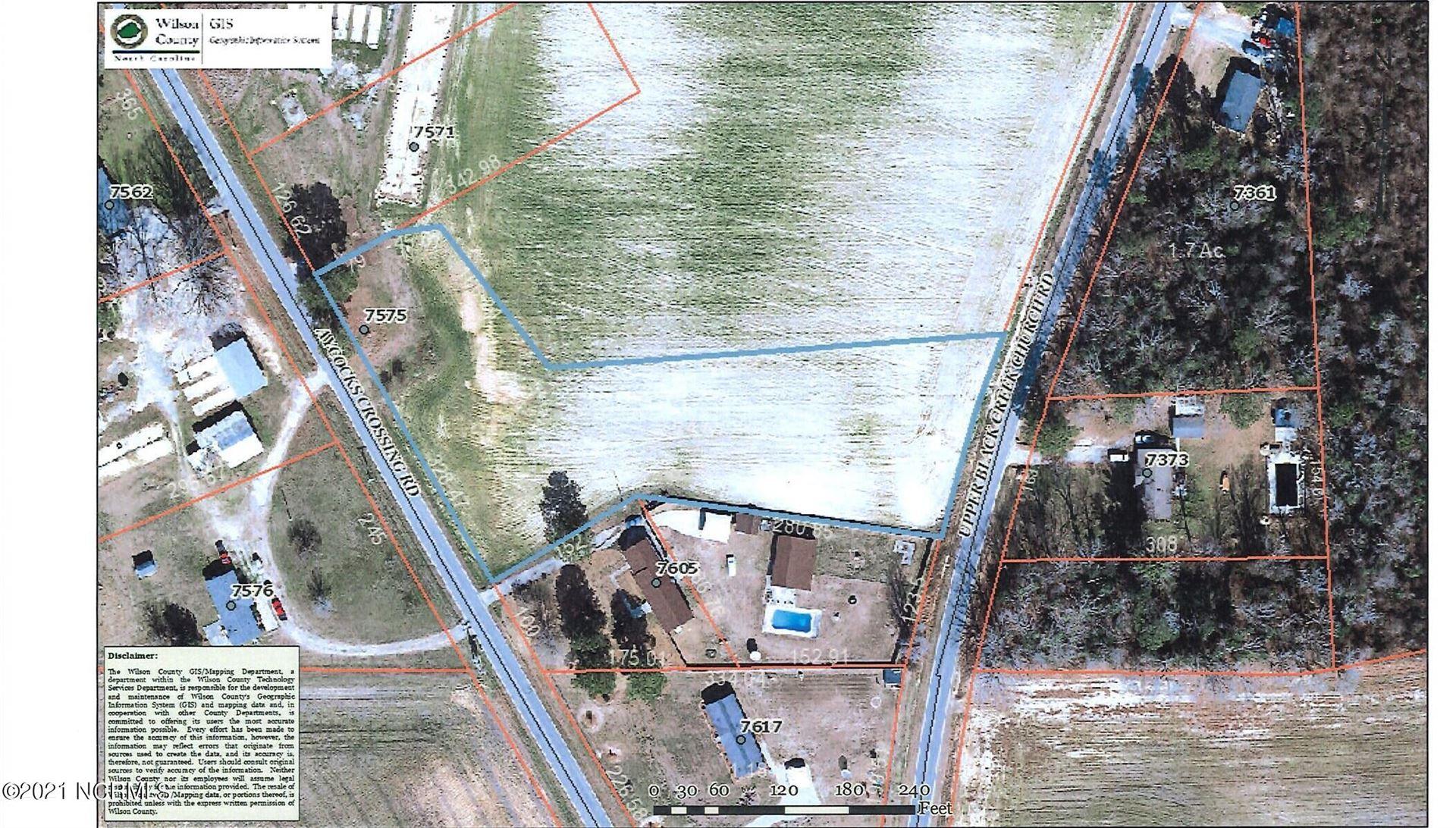 Photo of 7575 Aycocks Crossing Road, Lucama, NC 27851 (MLS # 100289982)