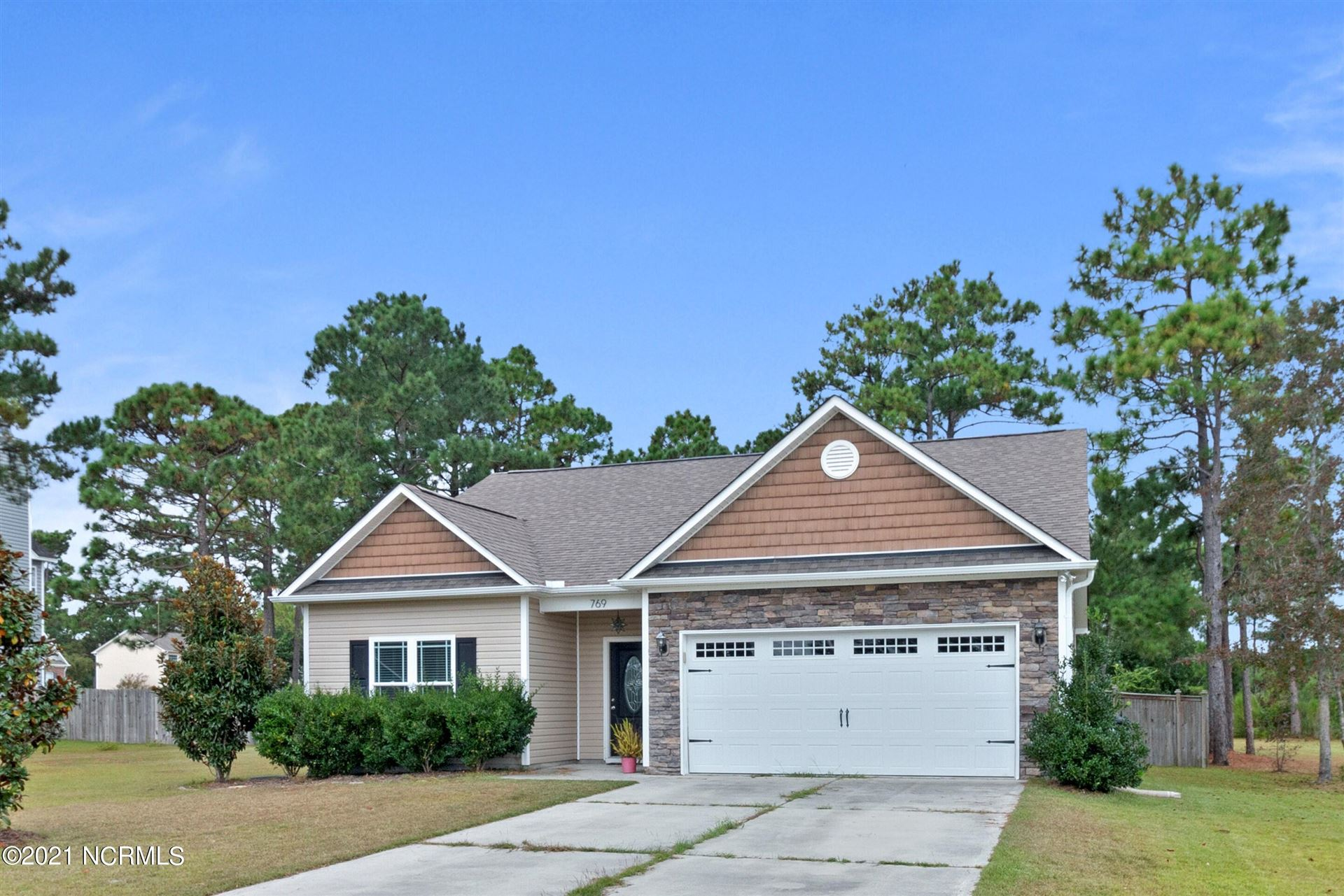 Photo of 769 Jim Grant Avenue, Sneads Ferry, NC 28460 (MLS # 100292986)
