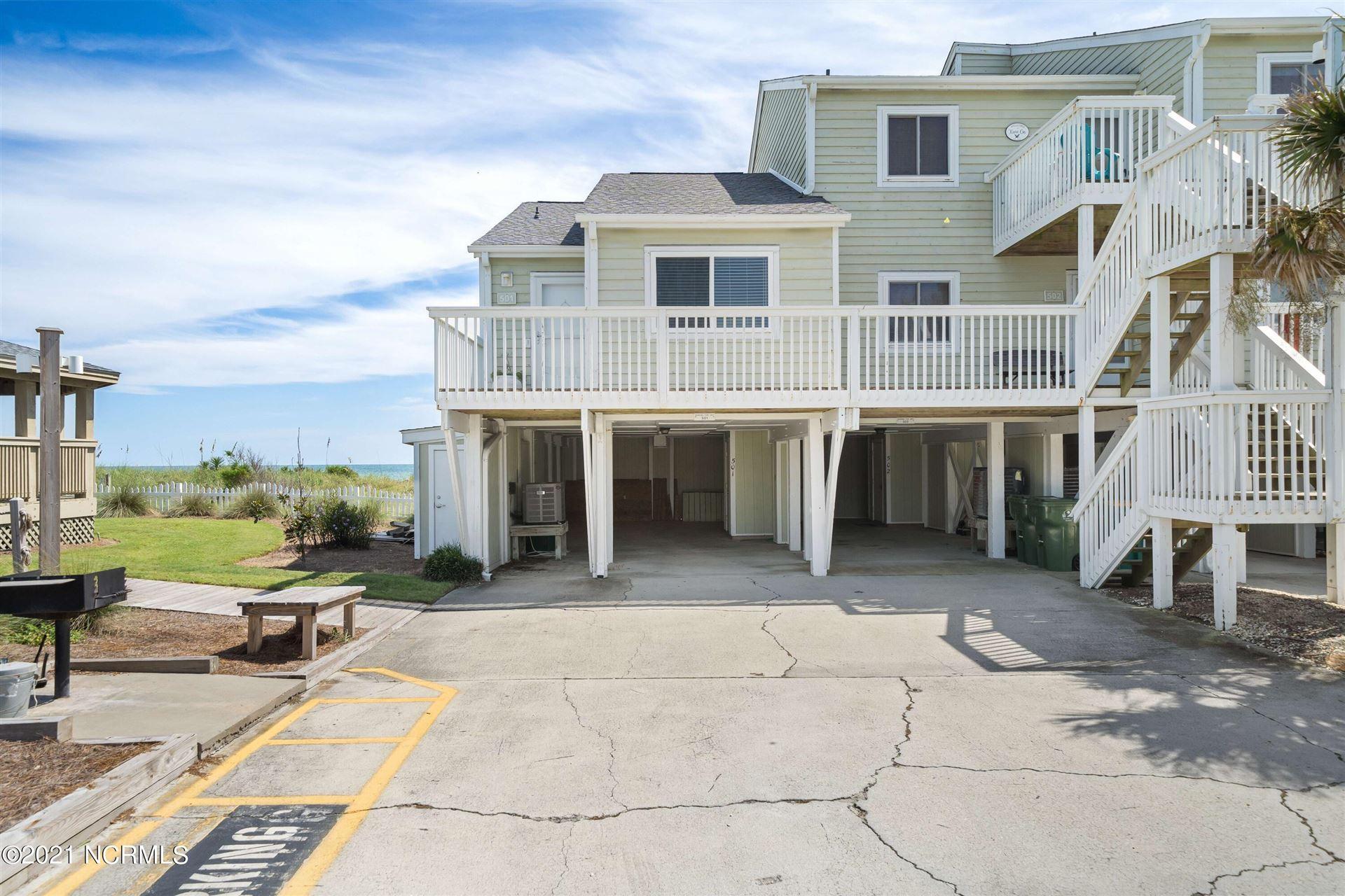 Photo of 501 Pelican Court, Kure Beach, NC 28449 (MLS # 100290987)