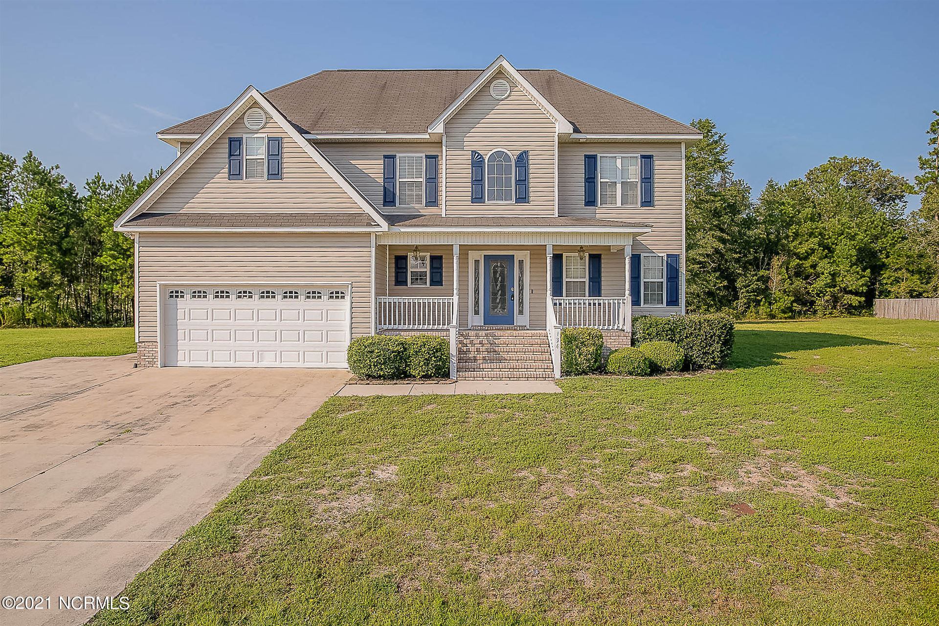 Photo of 134 Harvest Moon Drive, Richlands, NC 28574 (MLS # 100286995)