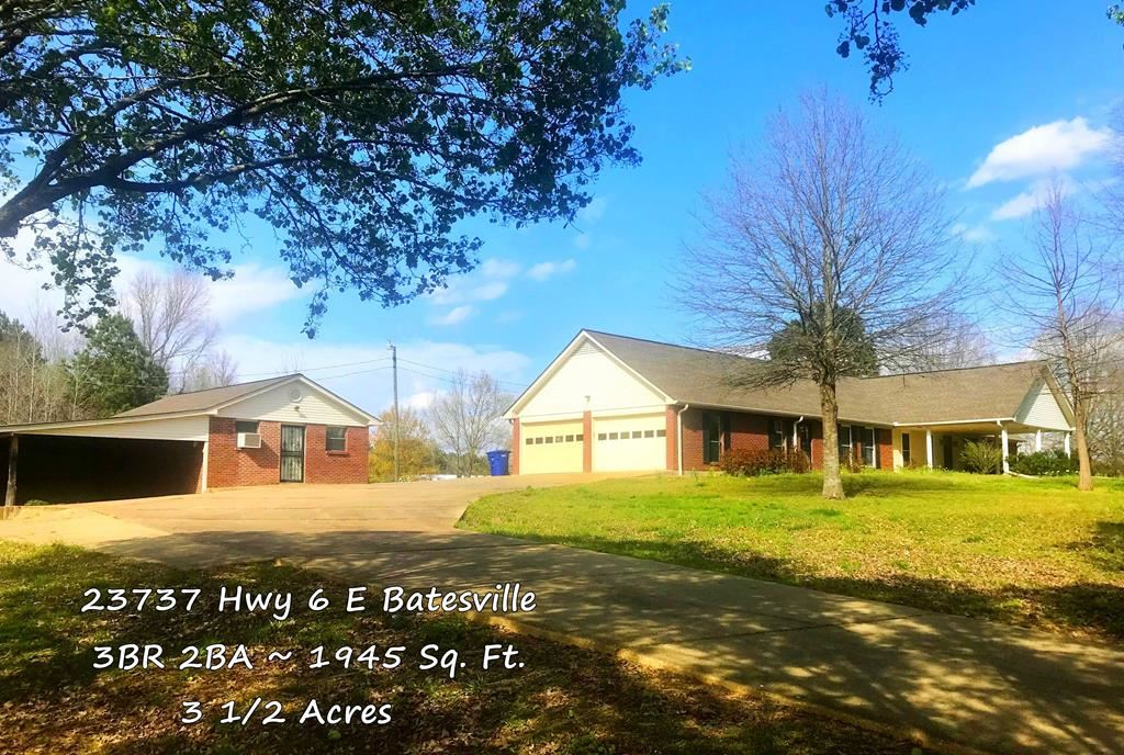 Photo for 23737 Hwy 6 East, BATESVILLE, MS 38606 (MLS # 140271)