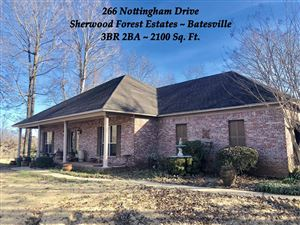 Photo of 266 Nottingham Drive, BATESVILLE, MS 38606 (MLS # 142453)