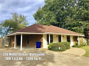 Photo of 200 Miller Street, BATESVILLE, MS 38606 (MLS # 141697)