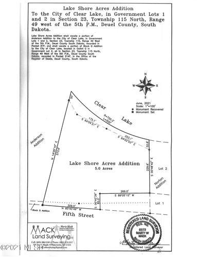 Photo of LAKE ROAD, Clear Lake, SD (MLS # 24-6587)