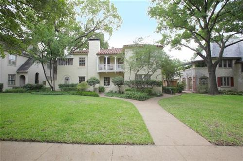 Photo of 4419 Westway Ave Avenue, Highland Park, TX 75205 (MLS # 14568023)