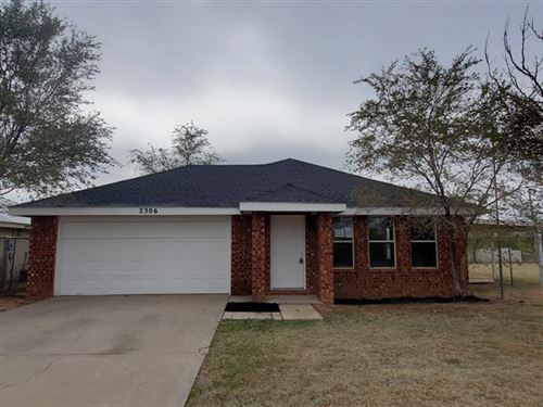 Photo of 2306 S Monticello Street, Big Spring, TX 79720 (MLS # 14462034)