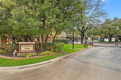 Photo of 5335 Bent Tree Forest Drive #110, Dallas, TX 75248 (MLS # 14268050)