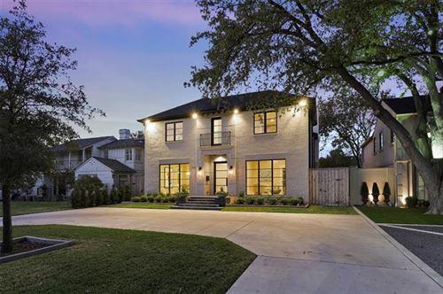 Photo of 4512 Mockingbird Lane, University Park, TX 75205 (MLS # 14459054)
