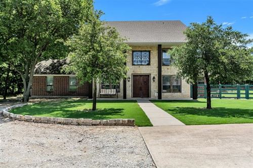 Photo of 1212 Triangle Road, Valley View, TX 76272 (MLS # 14380064)