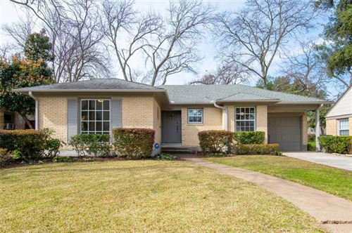 Photo of 4217 Concho Street, Dallas, TX 75206 (MLS # 14285210)