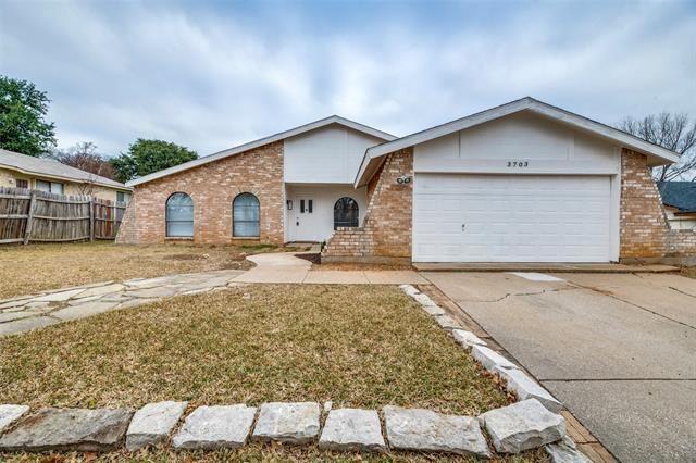 3703 Fort Hunt Drive, Arlington, TX 76016 - #: 14496213