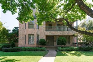 Photo of 3009 Westminster Avenue, University Park, TX 75205 (MLS # 14198232)