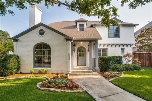 Photo of 4436 Stanhope Street, University Park, TX 75205 (MLS # 14638293)