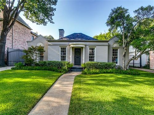 Photo of 4653 S Versailles Avenue, Highland Park, TX 75209 (MLS # 14414312)