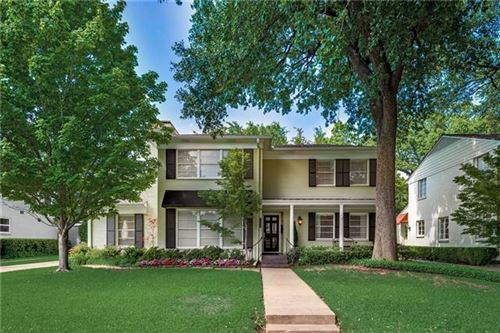 Photo of 4624 W Beverly Drive, Highland Park, TX 75209 (MLS # 14099315)