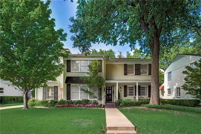 Photo for 4624 W Beverly Drive, Highland Park, TX 75209 (MLS # 14099315)