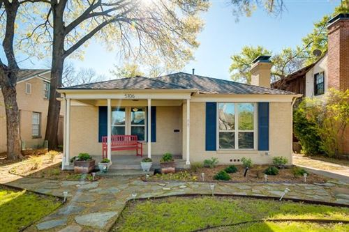 Photo of 5106 Alcott Street, Dallas, TX 75206 (MLS # 14461319)