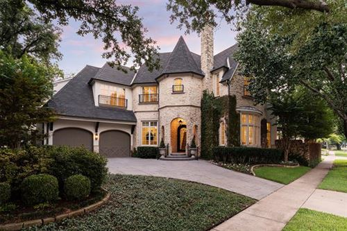 Photo of 4500 Belclaire Avenue, Highland Park, TX 75205 (MLS # 14630335)