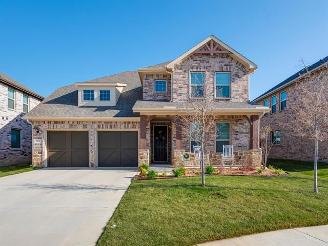 3817 Aspen Brook Lane, Fort Worth, TX 76244 - #: 14549355