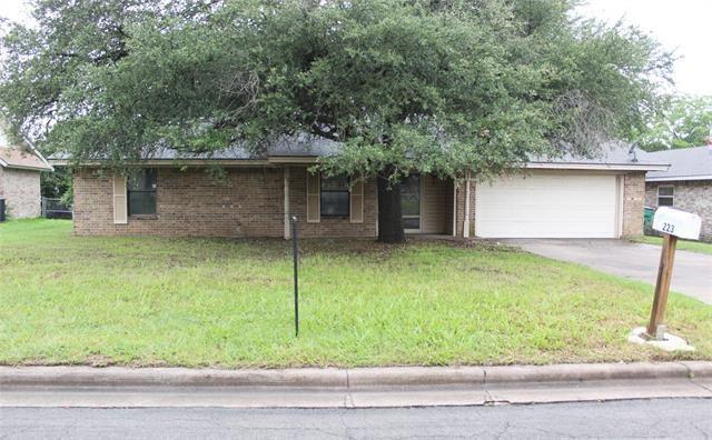 223 Sharp Drive, Stephenville, TX 76401 - MLS#: 14589372