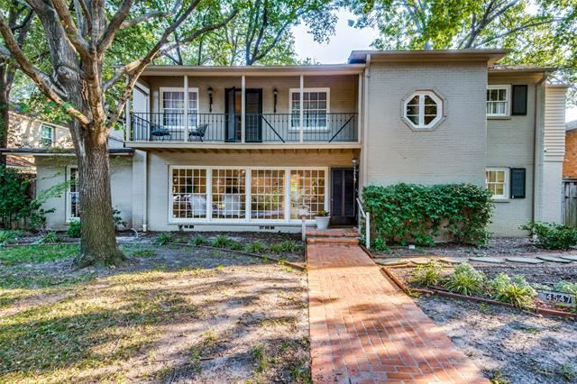 Photo for 4549 Westway Avenue, Highland Park, TX 75205 (MLS # 14587381)