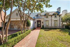 Photo of 4425 Belclaire Avenue, Highland Park, TX 75205 (MLS # 14142401)