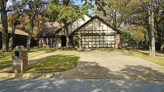 537 Greenwood Circle, Hurst, TX 76053 - #: 14471418