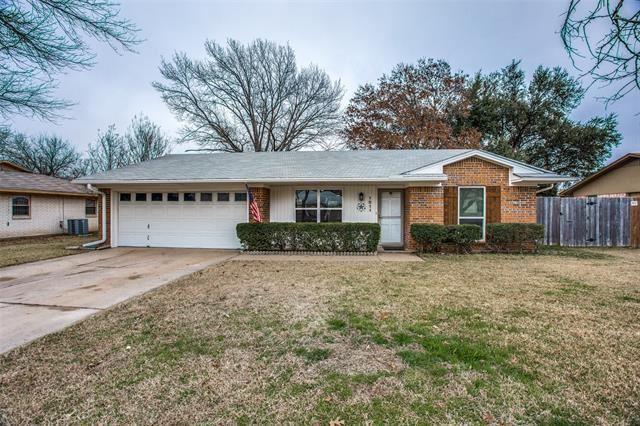 1211 Cozby Street E, Benbrook, TX 76126 - #: 14505425