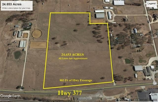 Photo for TBD Hwy 377, Pilot Point, TX 76258 (MLS # 13806447)