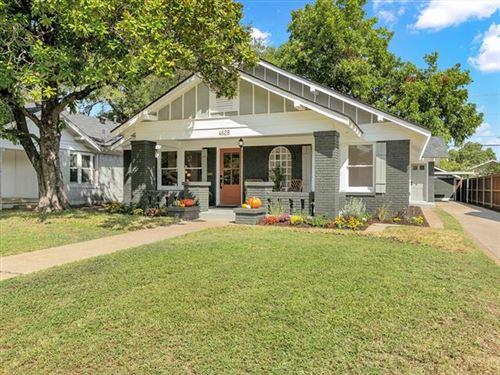 Photo of 4628 Birchman Avenue, Fort Worth, TX 76107 (MLS # 14669456)