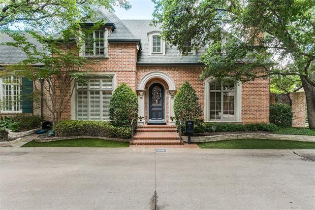 7737 Marquette Street, Dallas, TX 75225 - #: 14414476