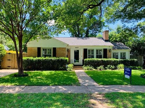 Photo of 5419 Bradford Drive, Dallas, TX 75235 (MLS # 14283510)
