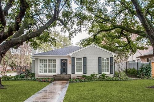 Photo of 4684 Belclaire Avenue, Highland Park, TX 75209 (MLS # 14275518)