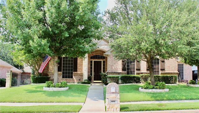 684 Bear Creek Drive, Hurst, TX 76054 - #: 14628538