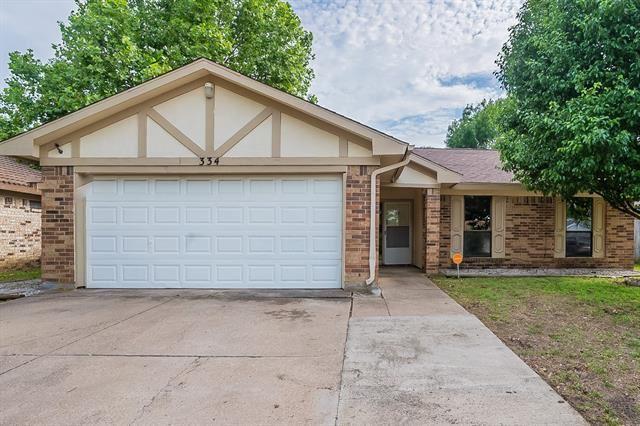 334 Juniper Drive, Arlington, TX 76018 - #: 14579565
