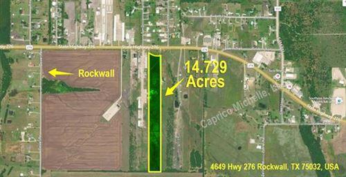Photo of 4649 Hwy 276, Rockwall, TX 75087 (MLS # 14493591)