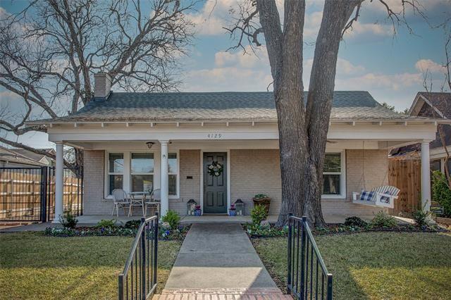4129 El Campo Avenue, Fort Worth, TX 76107 - #: 14495623