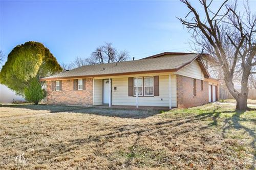 Photo of 3869 Wilshire Drive, Abilene, TX 79603 (MLS # 14501632)