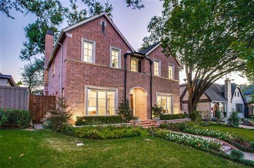 Photo of 3305 Rankin Street, University Park, TX 75205 (MLS # 14692633)