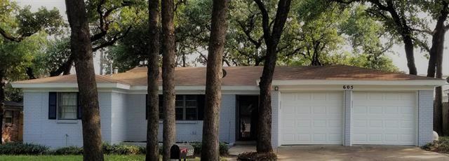 605 Woodcrest Drive, Hurst, TX 76053 - #: 14437669
