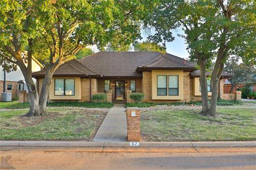 Photo of 57 Augusta Drive, Abilene, TX 79606 (MLS # 14458674)