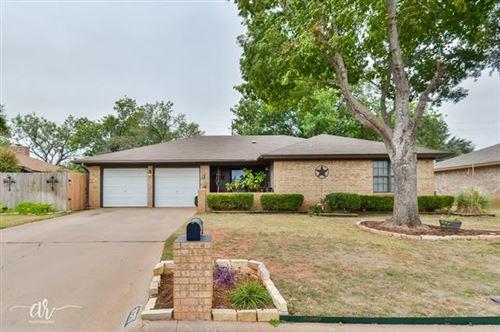 Photo of 3025 Chimney Rock Road, Abilene, TX 79606 (MLS # 14459690)