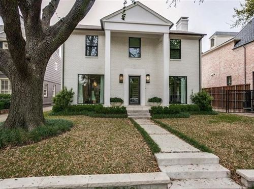 Photo of 4558 Rheims Place, Highland Park, TX 75205 (MLS # 14453707)