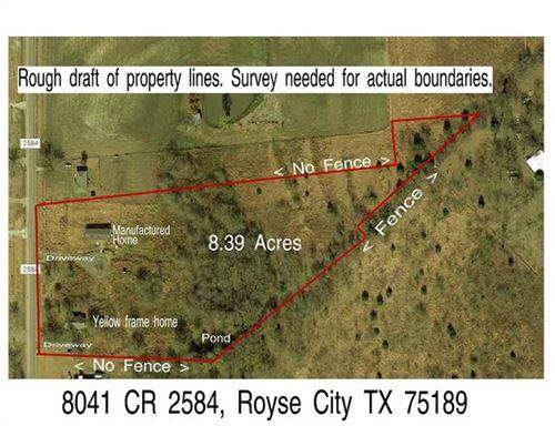 Photo of 8041 County Road 2584, Royse City, TX 75189 (MLS # 14697744)
